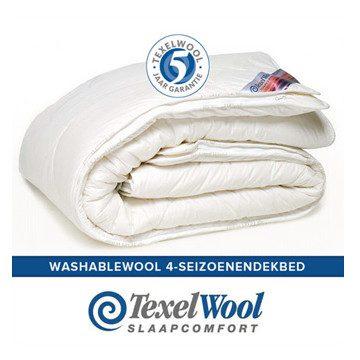 TexelWool Washable Wool Bettdecke