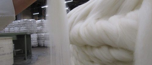 Ein Strang Wolle
