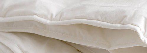 Hülle einer Wollbettdecke